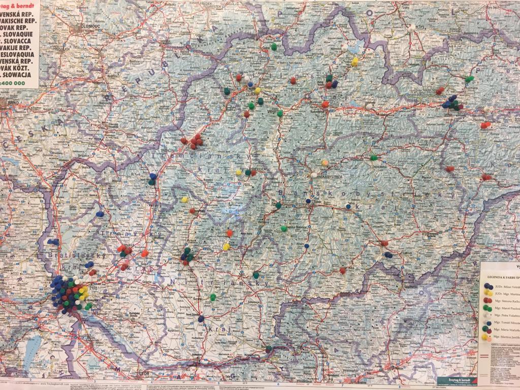 mapa podnetov